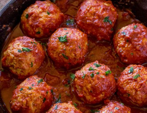 Exciting – and easy – Oven-Baked Chicken Meatballs